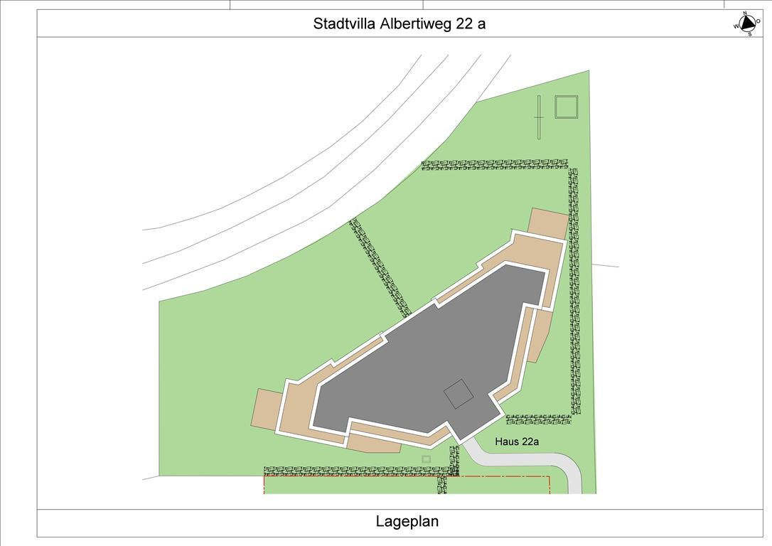 Albertiweg 22 a Lageplan
