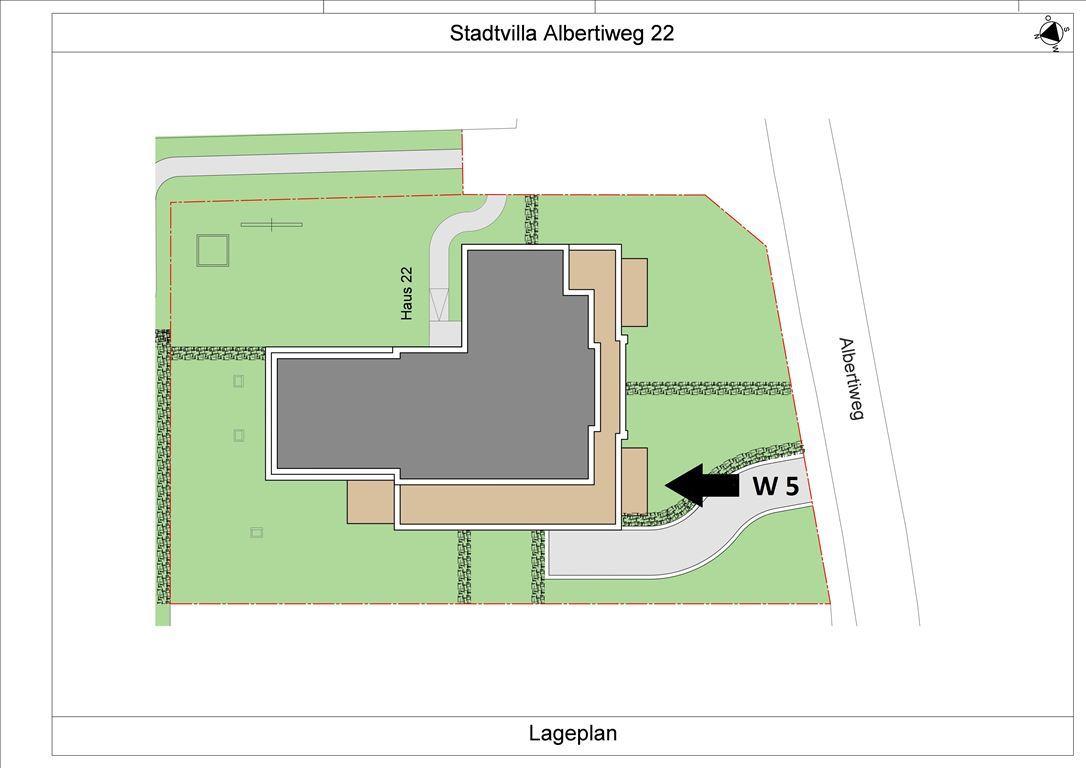 Albertiweg 22 Lageplan W 5